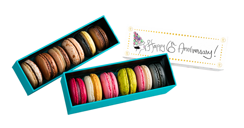 Paul Lafayet_6th Anniversary Limited Edition 6pcs Macaron Gift Box_1