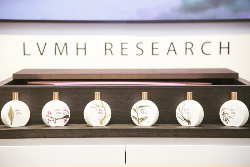 LVMH research and Paris Art Ltd work together for a creative performance